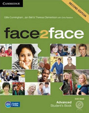 face 2 face advanced students book dvd rom 2nd ed photo