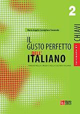 il gusto perfetto dell italiano 2 chiavi intermedio medio photo