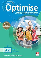 optimise a2 students book book premium pack photo