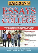 barrons essays that will get you into college 4th ed photo