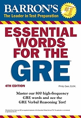 barrons essential words for the gre 4th ed photo