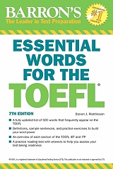 barrons essential words for the toefl 7th ed photo