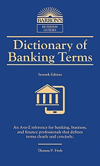 dictionary of banking terms 6th ed photo