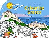 colouring greece photo