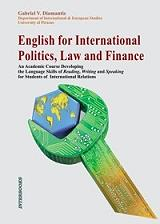 english for international politics law and finance photo