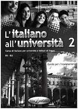 l italiano all universita 2 guida insegnante photo
