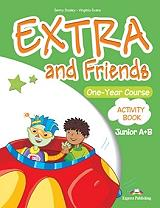extra and friends one year course junior a b activity book photo