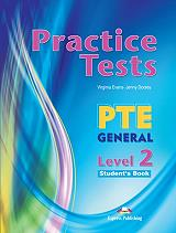 practice test pte general level 2 students book photo