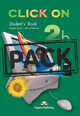 click on 2b students book cd pack photo