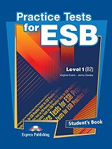 practice test for esb level 1 students book photo
