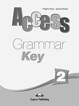 access 2 grammar book key photo