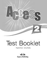 access 2 test booklet photo
