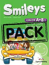 smileys junior a b one year course pack cd iebook let s celebrate 34 alphabet book photo