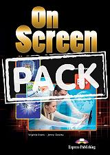 on screen b2 students book writing book ie book photo