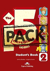 the incredible 5 team 2 power pack wb digibook app photo