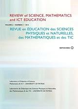 review of science mathematics and ict education volume 6 number 2 photo