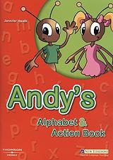 andys alphabet and action book students book cd photo