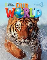 our world 3 students book cd rom american edition photo