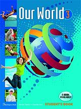 our world 3 students book with writing booklet photo
