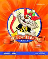 the cat is back junior b students book photo