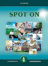 spot on 4 coursebook and writing booklet sb set photo