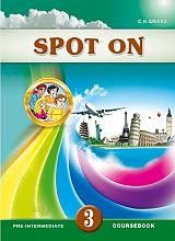 spot on 3 coursebook and writing booklet sb set photo
