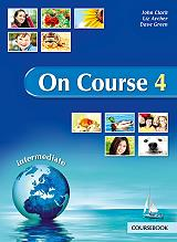 on course 4 intermediate coursebook photo