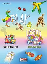 play and learn pre junior coursebook photo