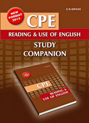 cpe reading and use of english study companion photo