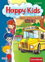 happy kids junior a b coursebook starter students book photo