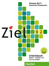 ziel b2 lektionen 1 8 band 1 arbeitsbuch cd rom biblio askiseon photo