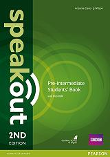 speakout 2nd edition pre intermediate coursebook with dvd rom photo