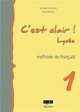 c est clair lycee 1 methode de francais photo