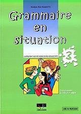 grammaire en situation livre du professuer 3 photo