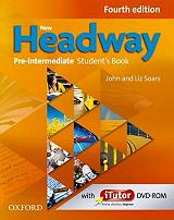 new headway pre intermediate students book with itutor pack photo