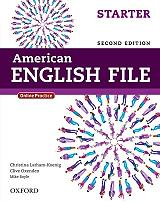 american english file starter students book online practice 2nd ed photo