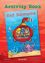 red submarine 1 activity book photo
