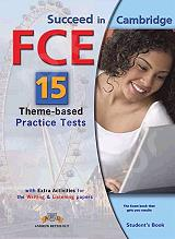 succeed in cambridge fce 15 theme based practice tests students book photo