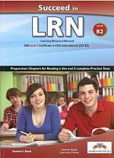 succeed in lrn level cefr b2 practice tests students book photo