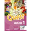 quest 1 students book cd reader pack photo