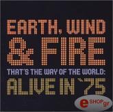 earth wind fire alive in 75 dvd photo