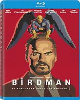birdman i aprosmeni areti tis afeleias blu ray photo