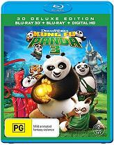 kung fu panda 3 3d 2d blu ray photo