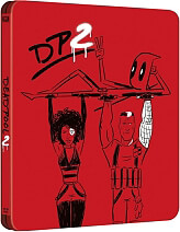 deadpool 2 steelbook 2 disc blu ray photo