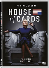house of cards tv series 6 3 dvd photo