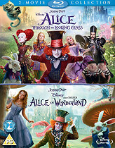 alice in wonderland alice through the looking glass blu ray