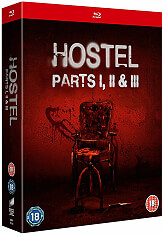 hostel parts i ii iii blu ray photo