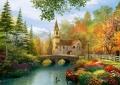 trefl puzzle 4000pz autumn nostalgia extra photo 1
