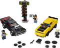 lego 75893 2018 dodge challenger srt demon and 1970 dodge charger r t extra photo 1