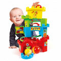 as baby clementoni ball drop castle roll and run 1000 17226 extra photo 4